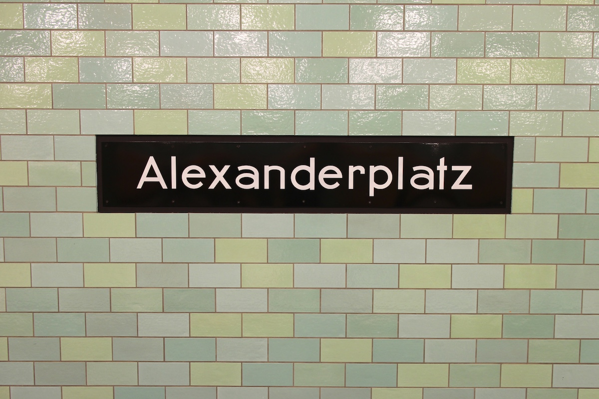 Alexanderplatz-Sign